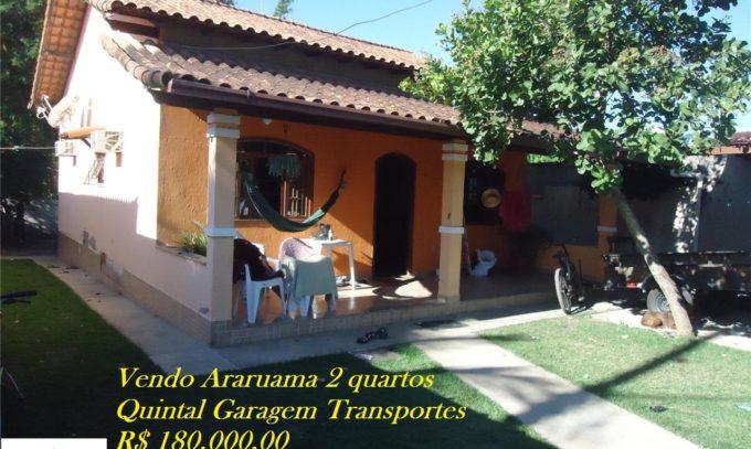 Vendo Boa Casa Mais um Anexo em Araruama RJ Bairro Japão 2 Quartos Quintal VDCS294