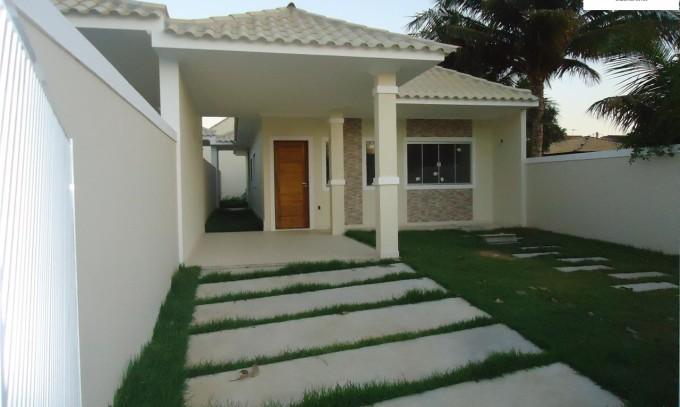 Ótima Casa em Araruama RJ Pontinha 3 Quartos Sendo 1 Suíte Fino Acabamento