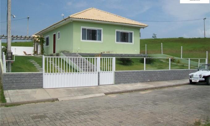 Casa Excelente Padrão Condomínio Araruama RJ Fazendinha 2 Quartos Sendo 1 Suíte